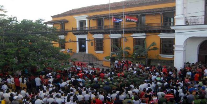 Cada 30 de noviembre estudiantes destacados realizaan un asalto simbólico al sitio, hoy Museo de la Lucha Clandestina.Foto Ilustrativa(2016).ACN.
