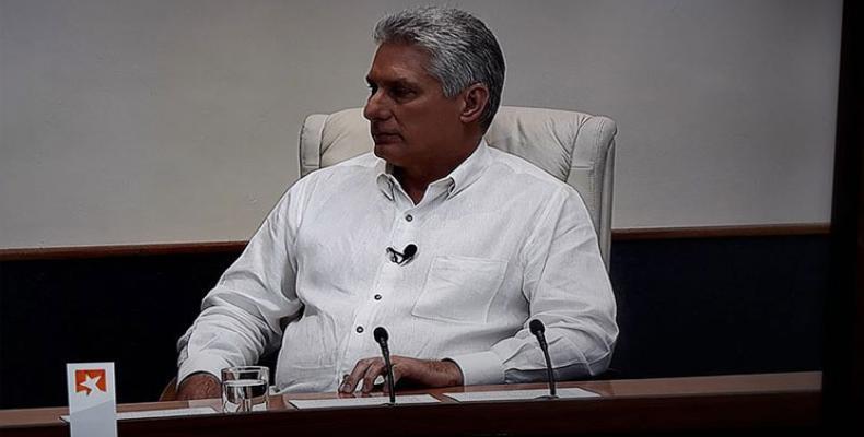 El presidente cubano asistirá al espacio para darle seguimiento al importante tema que trató la semana pasada. Fotos: Archivo