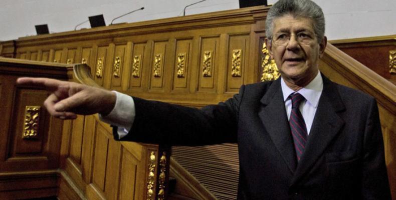 Presidente de la Asamblea, Henry Ramos Allup.