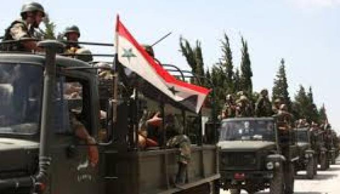 Avanza el ejército sirio