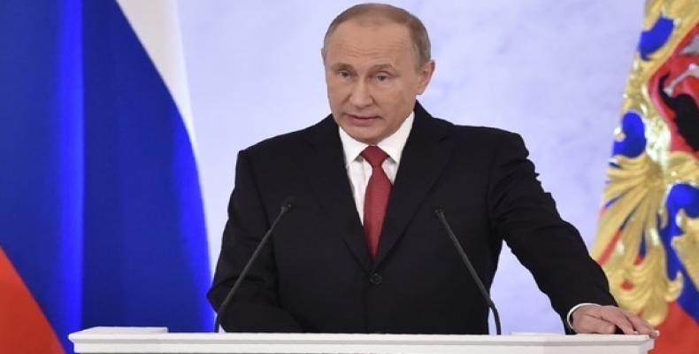 Putin: la Guerra Fría terminó hace mucho tiempo. Foto: AFP