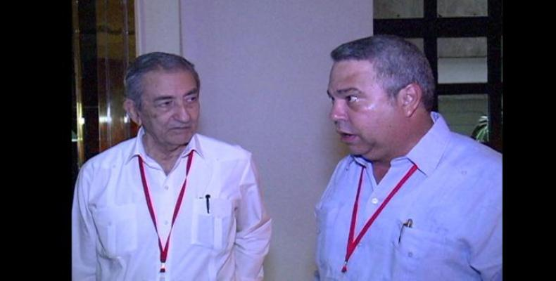 José Ramón Balaguer and Ulises Guilarte in Venezuela