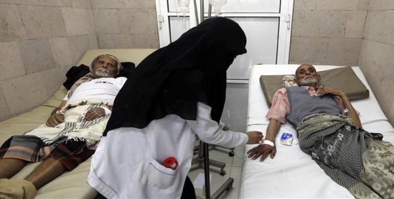 Aid groups warn of new cholera outbreak in Yemen.   Photo: AFP