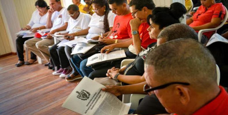 The Cuban Constitution of 2019 was developed through a people's constitutional assembly