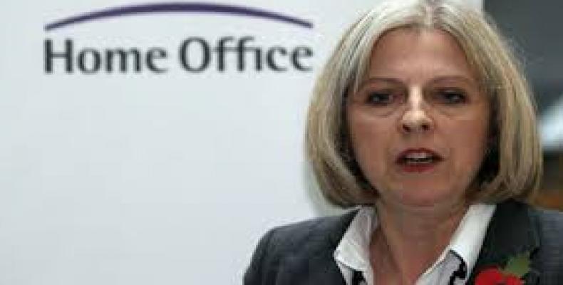 Theresa May. Foto: Archivo