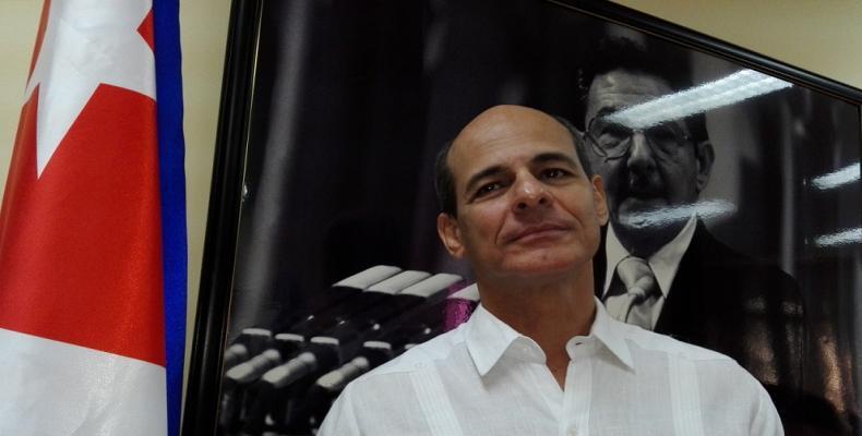 El viceministro cubano de Relaciones Exteriores, Rogelio Sierra, comenzará este jueves una visita oficial a Paramaribo. Foto:Jorge Legañoa Alonso