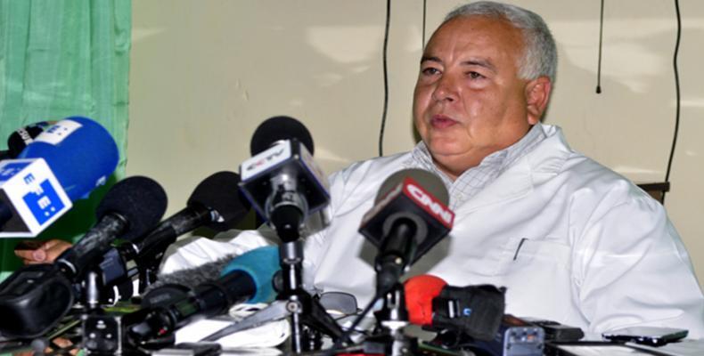 Sergio Rabell, Director of Havana´s Institute of Legal Medicine