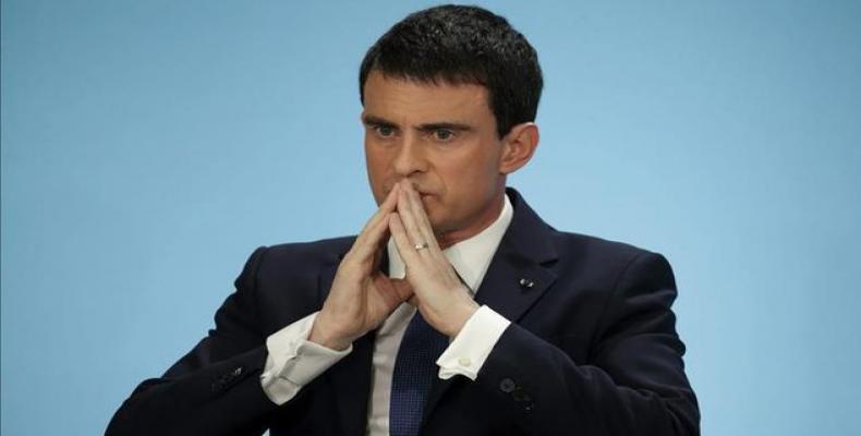 Primer ministro francés Manuel Valls