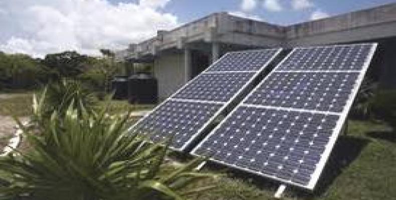 El archipiélago cubano recibe un promedio de radiación solar, al año, superior a los mil 800 kilovatios. Foto: Archivo