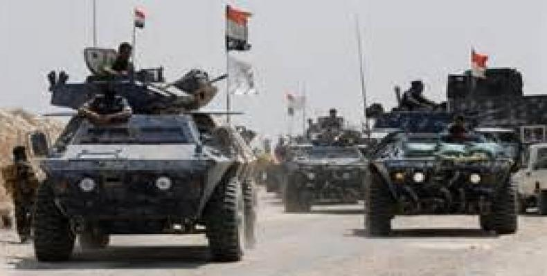 Tanques iraquíes entran en Fallujah