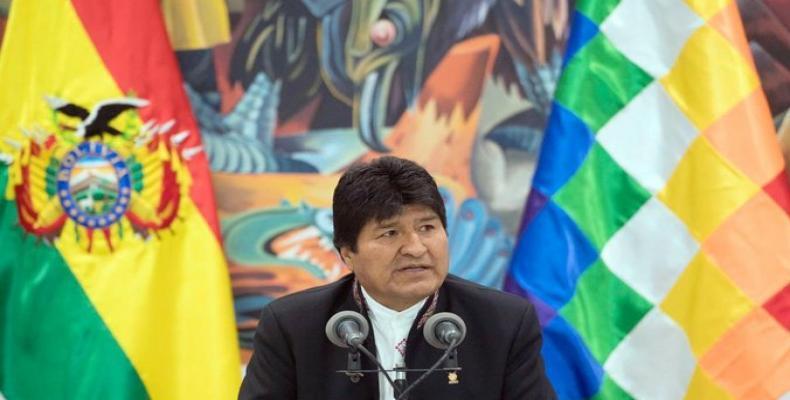 President Evo Morales. (Photo: Bolivian presidency)