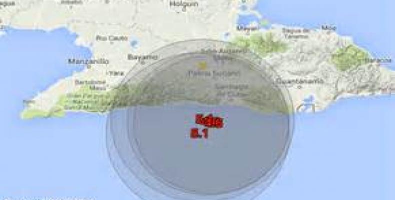Acividad sísmica en oriente cubano