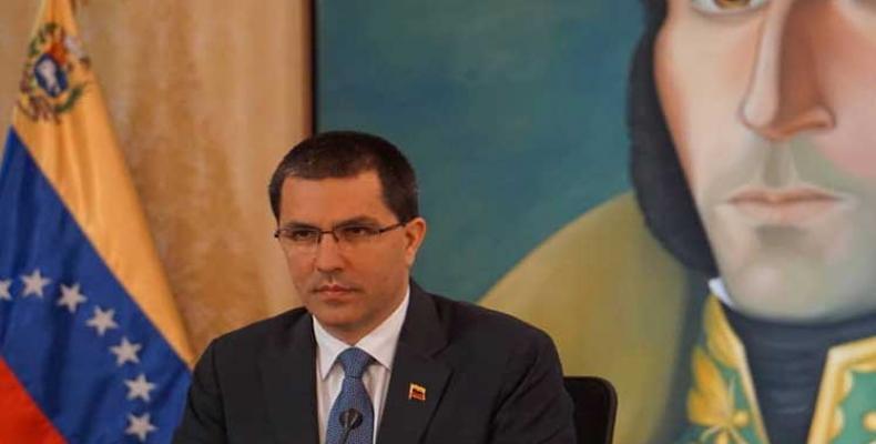 Jorge Arreaza, ministro pri eksteraj rilatoj de Venezuelo