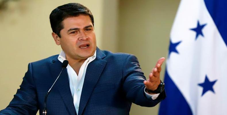 Honduran President Juan Orlando Hernandez (Photo: AP)