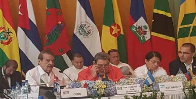 Participants at ALBA-TCP ministerial conference held in Managua.