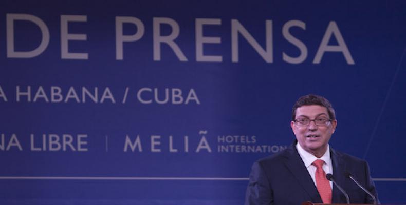 Bruno Rodríguez Parrilla. Foto: Ismael Francisco/Cubadebate