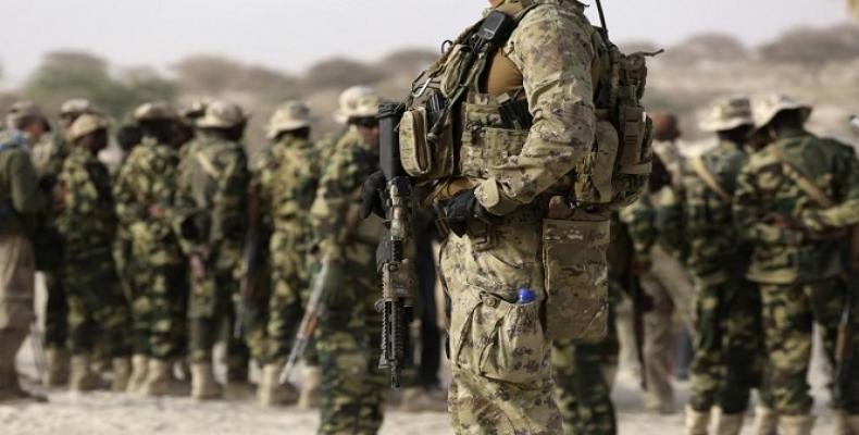 U.S. military forces deployed in Argentina.  Photo: teleSUR