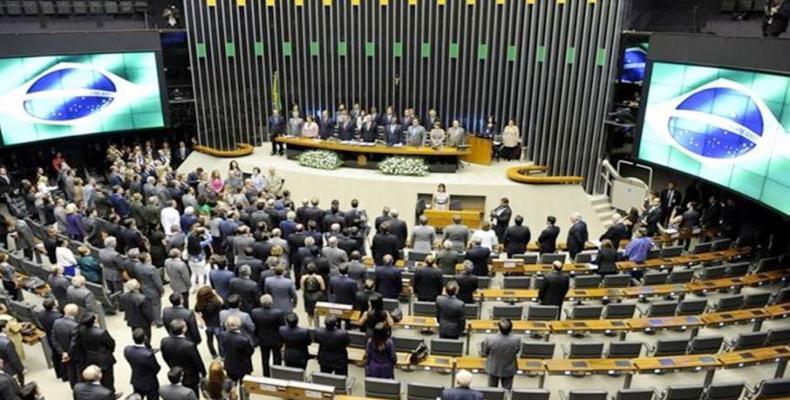 Sede del Senado brasileño