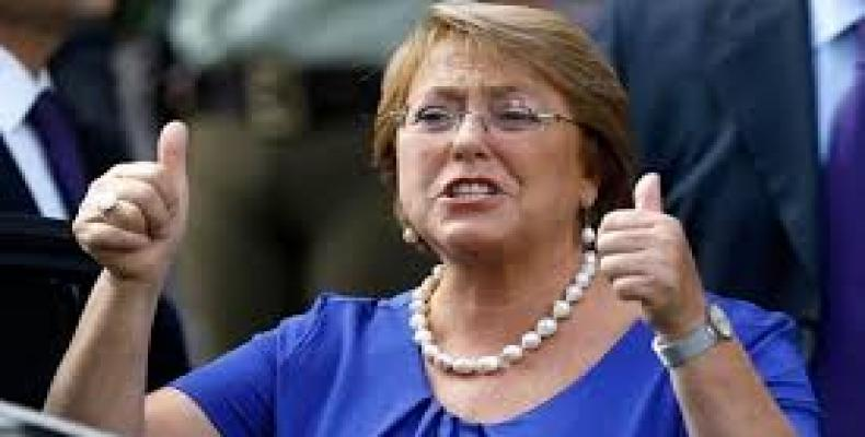 Former Chilean president Michelle Bachelet.  Photo: The Financial Express / Google