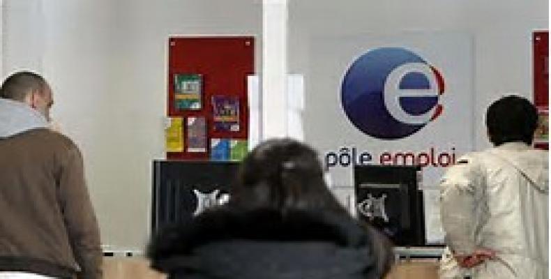 En Francia, el número de desempleados aumentó en tres como 59 millones en febrero último