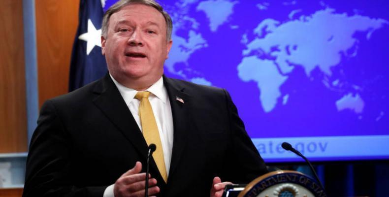 U.S. Secretary of State Mike Pompeo.  Photo: AFP