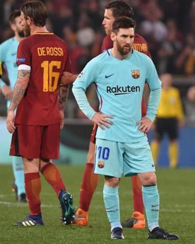 Messi tras eliminación del Barcelona. Foto: diariocordova.com