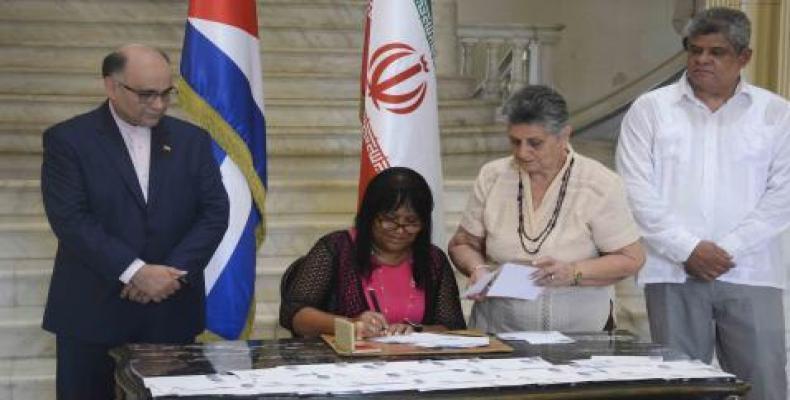 Celebran Cuba e Irán 40 años de relaciones diplomáticas.