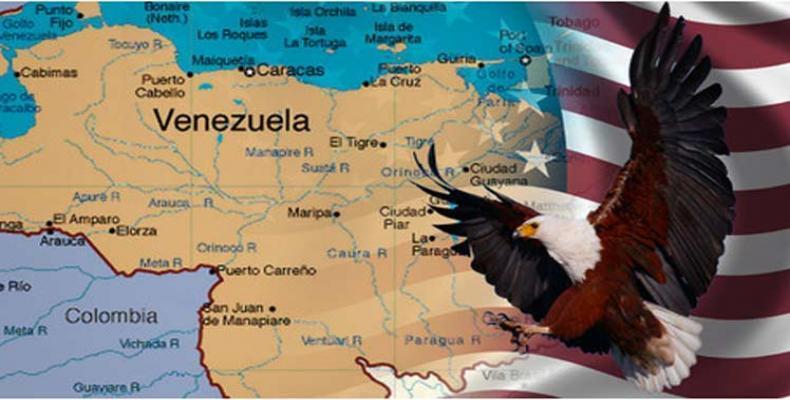 EE.UU. aún considera la opción militar para derrocar al presidente constitucional de Venezuela. Foto: Prensa Latina.
