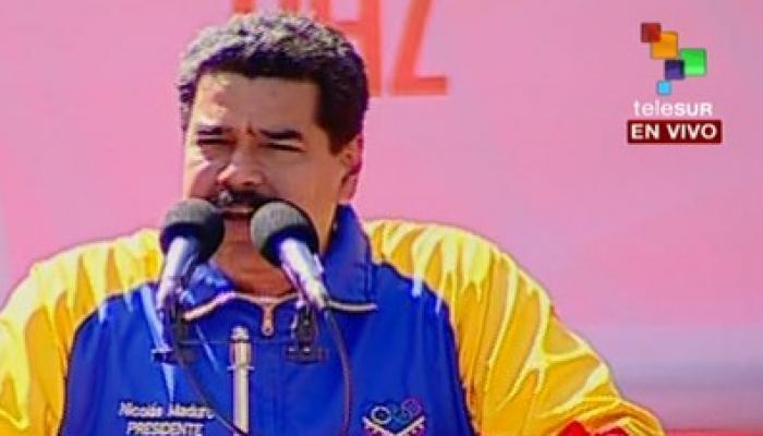 """Maduro denunció que el Ejecutivo estadounidense dirige una operación para imponer un """"gobierno títere"""" en Venezuela. Foto: Archivo"""