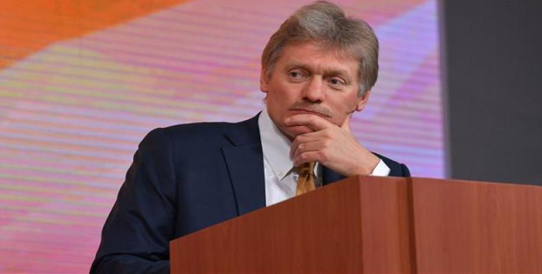 Kremlin spokesman Dmitry Peskov.   Photo: EFE