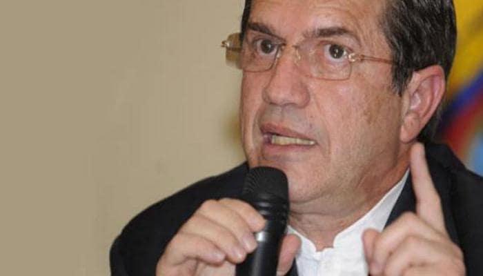 Former Ecuadorean foreign minister Ricardo Patiño