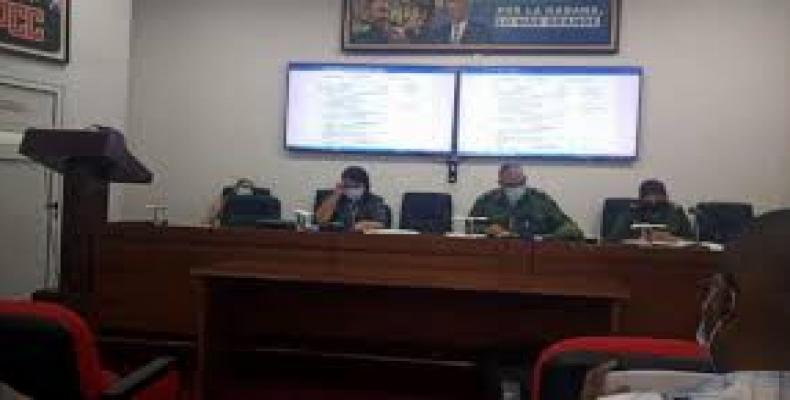 Reunión del Consejo de Defensa Provincial (CDP) presidida por Luis Antonio Torres Iríbar. Fotos: Tribuna de La Habana
