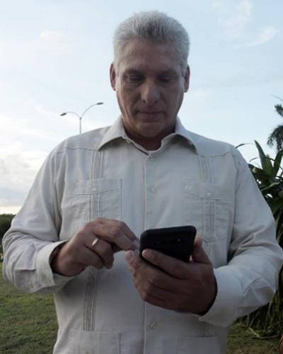 El Presidente cubano felicita a los santaclareños por fundación de la ciudad.Foto:Internet.