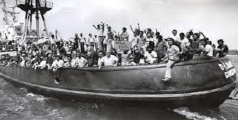 The Mariel boat lift of 1980 heralded an emigration with other characteristics, contributing to the social and ideological diversity of the Cuban émigré communi