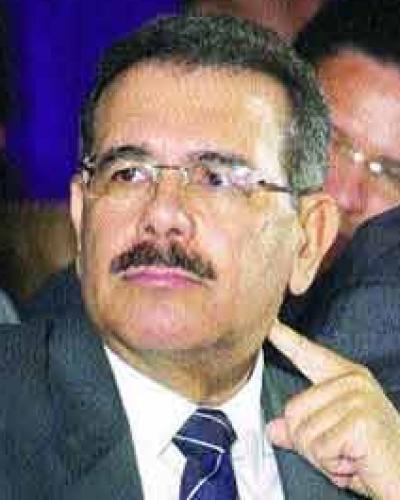 Presidente de República Dominicana Danilo Medina