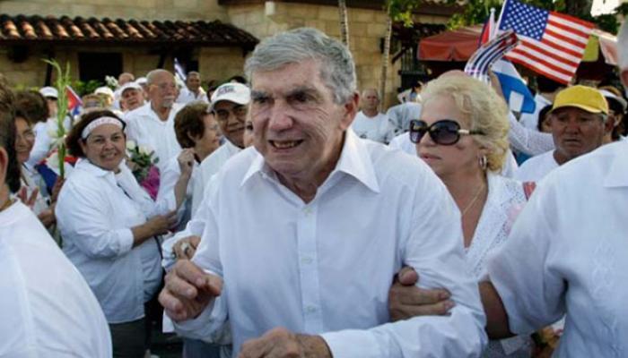 Cuban-born terrorist Luis Posada Carriles.  File photo