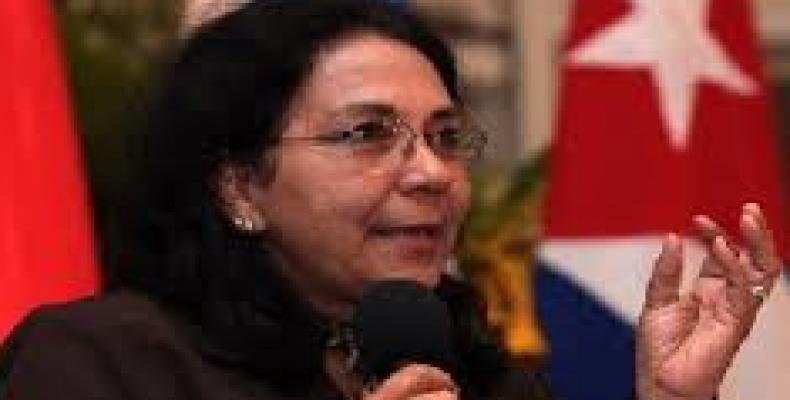 Marcia Cobas explicó sobre la actual política de EE.UU. hacia Cuba en el sector de la salud y la colaboración médica internacional. Foto: Archivo