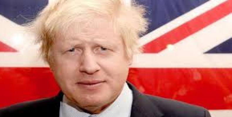 Former London Mayor Boris Johnson