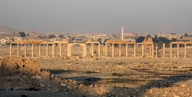 museo de palmira, siria