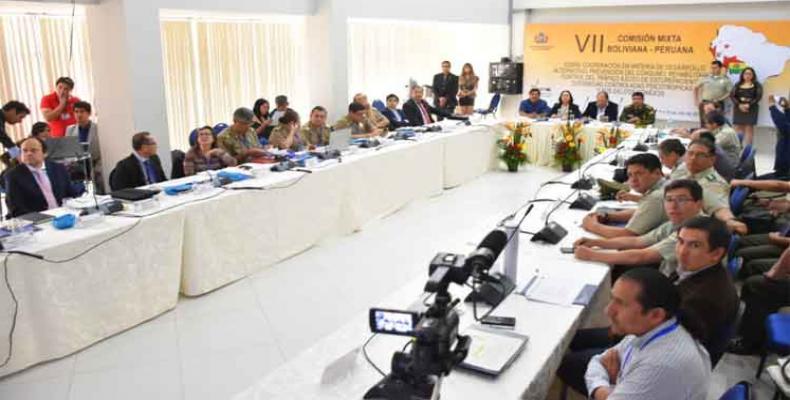 Fortalecen Bolivia y Perú acciones contra el crimen organizado. Foto: PL.