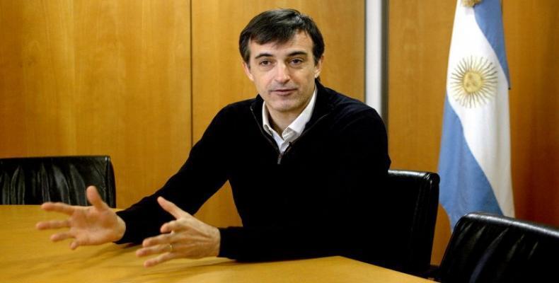 Argentina's Education Minister Esteban Bulrich