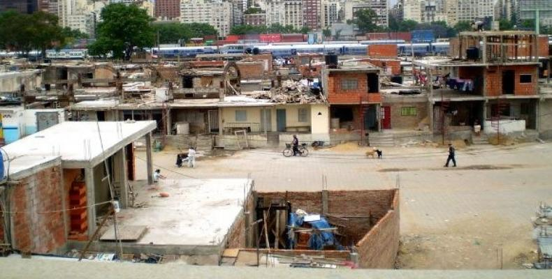 The 'Villas' of Buenos Aires, where poverty is most concentrated.  (Photo: Flickr)