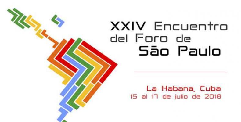 Realizarán en Cuba debate online sobre encuentro del Foro de Sao Paulo. Foto:PL.