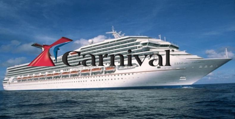 Companhia norte-americana de cruzeiros Carnival anuncia viagens para 2019.