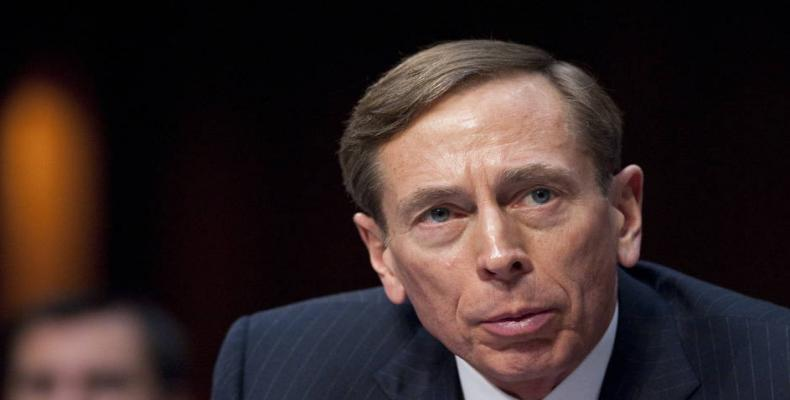 Former CIA Director and Retired U.S. Army General David Petraeus