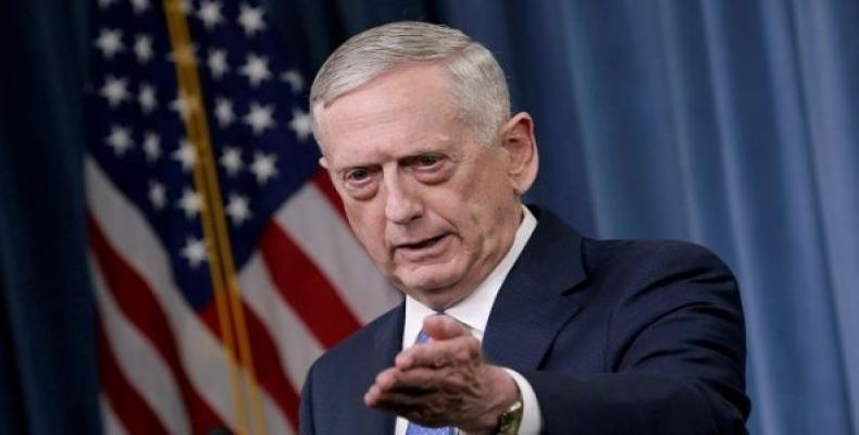 U.S. Secretary of Defense James Mattis.  Photo: Reuters