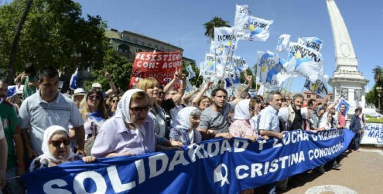Marcha de Madres de Plaza de Mayo