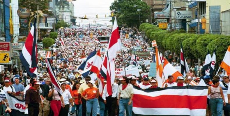 Varias organizaciones sindicales de Costa Rica decidieron mantener la protesta nacional