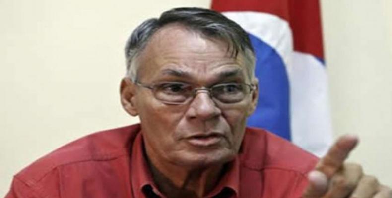 Fabián Escalante Font, General de División (retirado) del Ministerio del Interior (MININT) de Cuba.Foto:Archivo.
