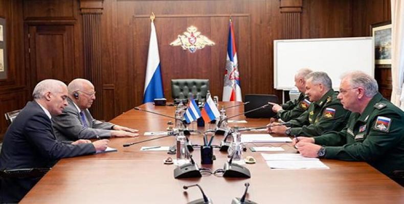 Ambas partes abordaron asuntos de seguridad regional e internacional. Foto: Gerardo Penalver Portal/ Facebook.